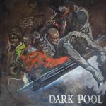 Dark Pool ,Huile sur toile,1,80 / 1,80 m, 2012.