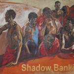 Shadow Banking , 1,50/ 2 m, Huile sur toile , 2013.