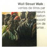 Wall Street Walk, Installation La consigne 1/1 m Decembre 2014